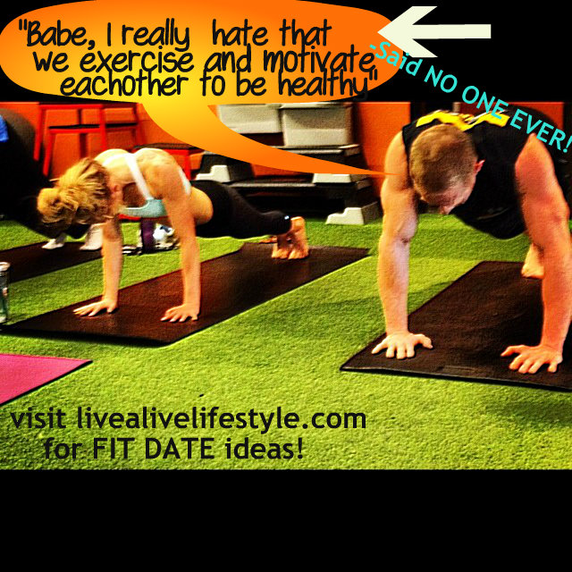 couple that gets fit t...